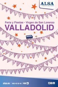 ALSA Fiestas San Lorenzo Valladolid