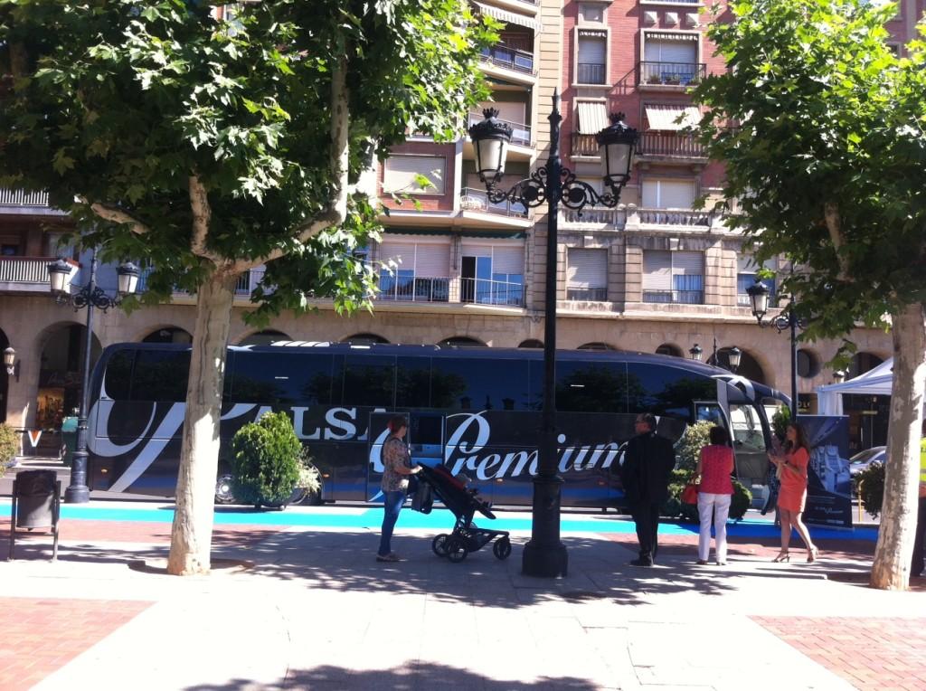 Presentación ALSA Premium Madrid-Soria-Logroño