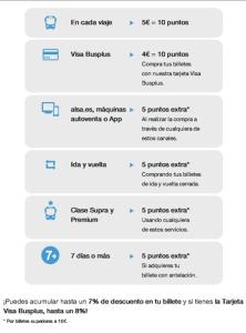 ALSA obtencion puntos canje nueva web