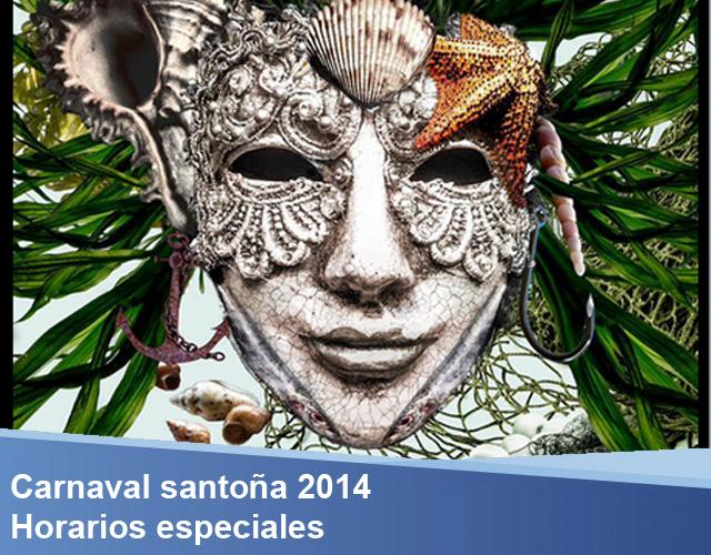horarios especiales carnaval santoña ALS
