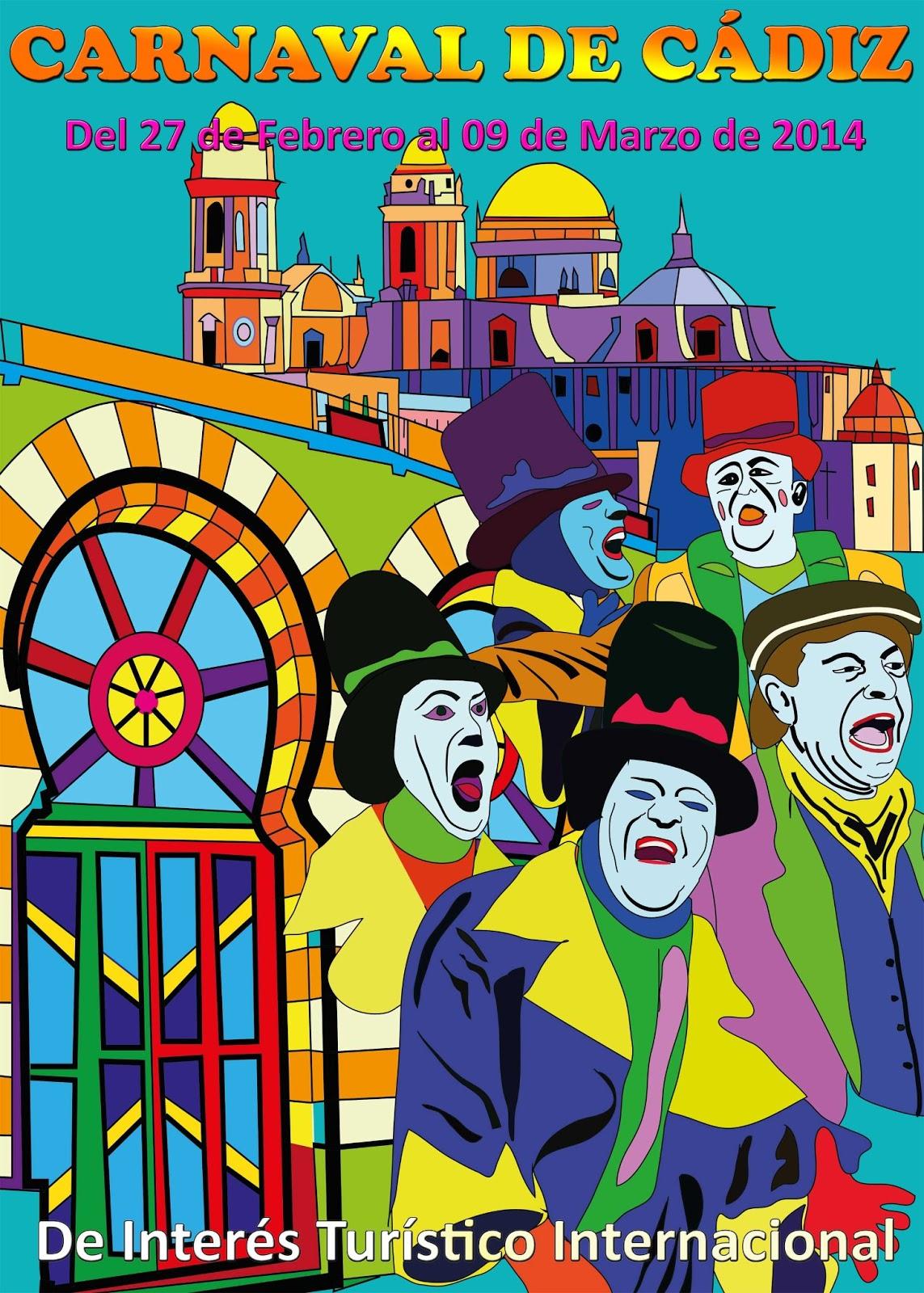 Cartel Carnaval Cádiz
