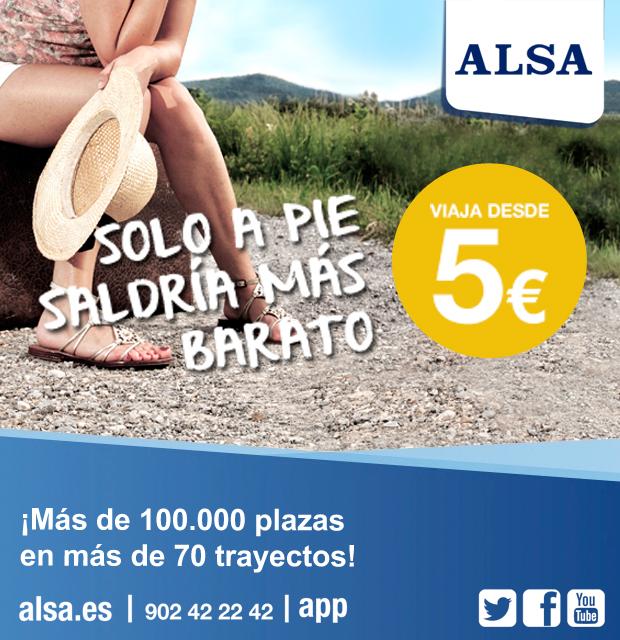 alsa.es | Más de 100.000 plazas en más de 70 trayectos!