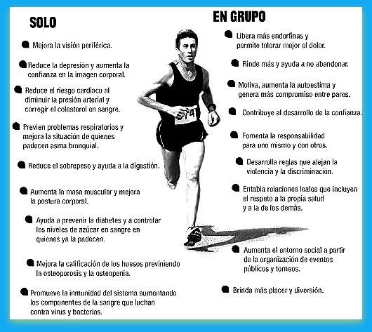 beneficios del correr