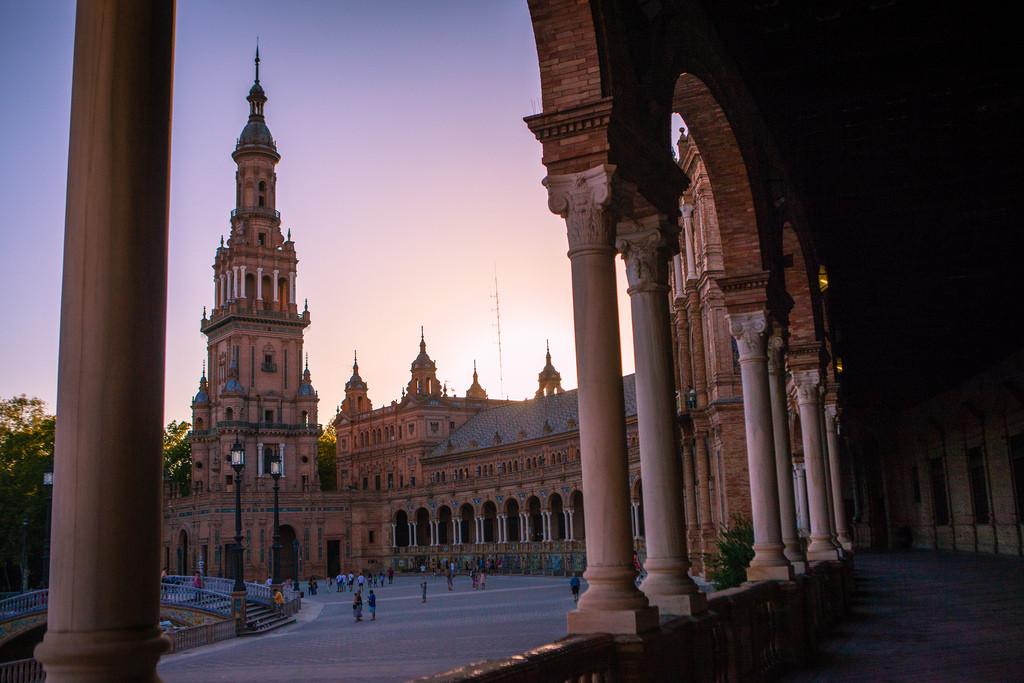 Anh Dinh- Plaza de España, Sevilla