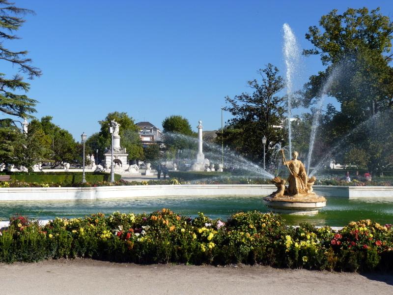 Luis Suarez - Aranjuez, Palace of Aranjuez in the Fall