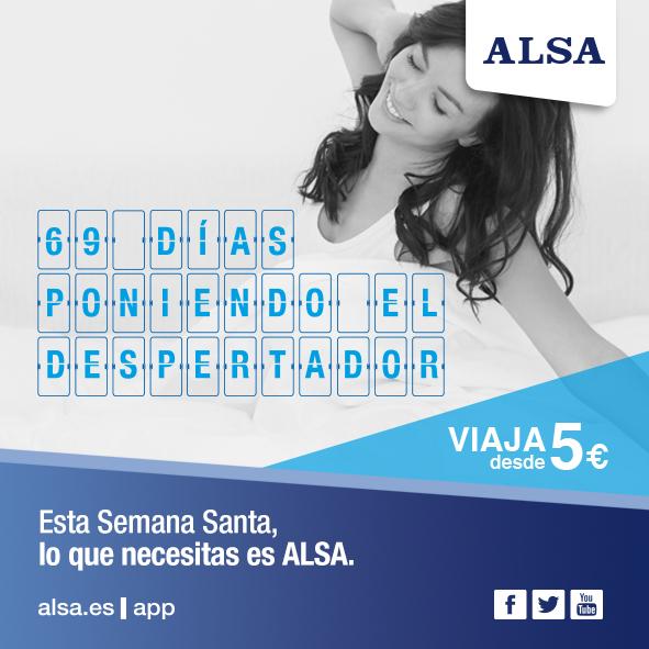 Esta Semana Santa lo que necesitas es ALSA
