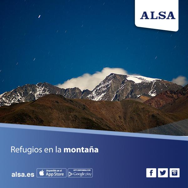Refugios en la montaña