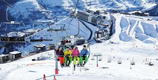 Esquí en Saint Lary Francia