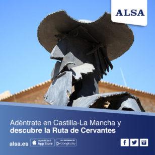 ALSA Ruta Cervantes