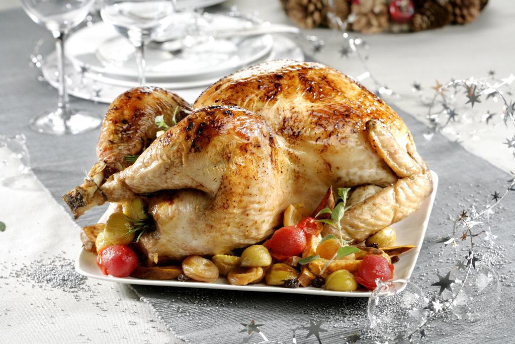 pavo relleno comida navideña autor: jose vicente haba hernandez