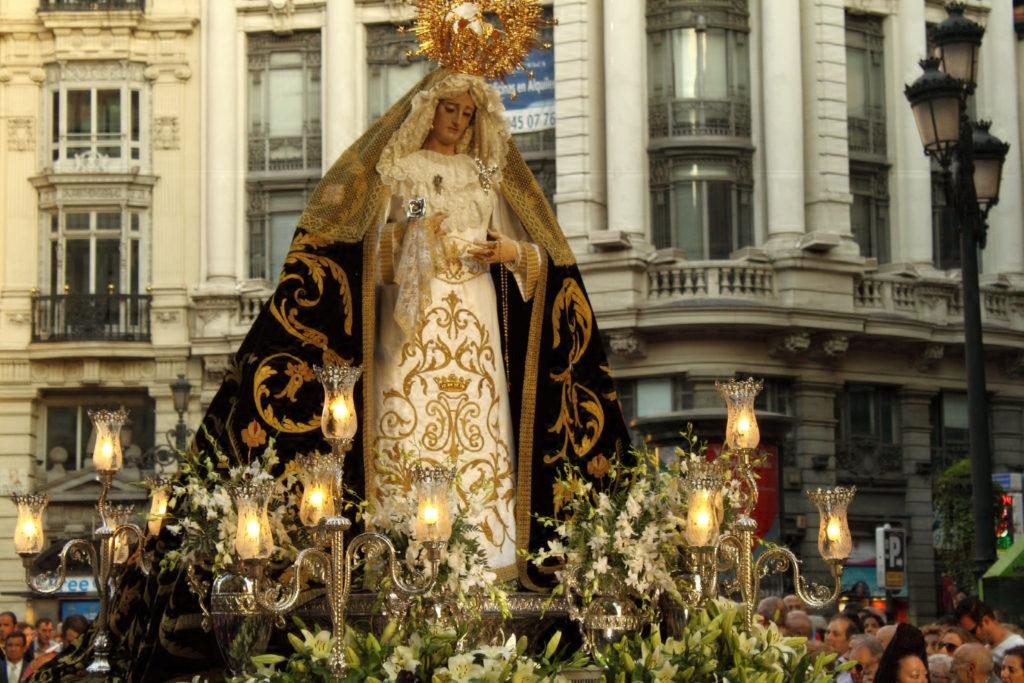 procesiones Madrid Semana Santa. Autor: Federico Jordá