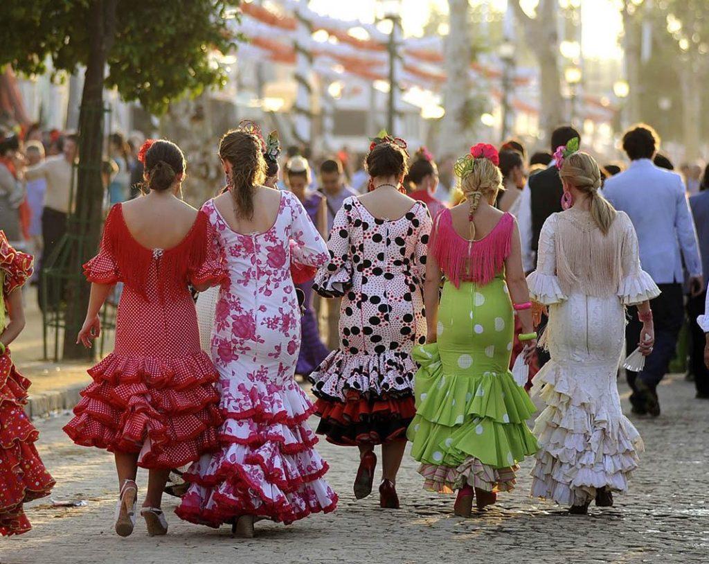 feria de abril sevilla flamencas. Autor: Sevilla Congress & Convention Bureau