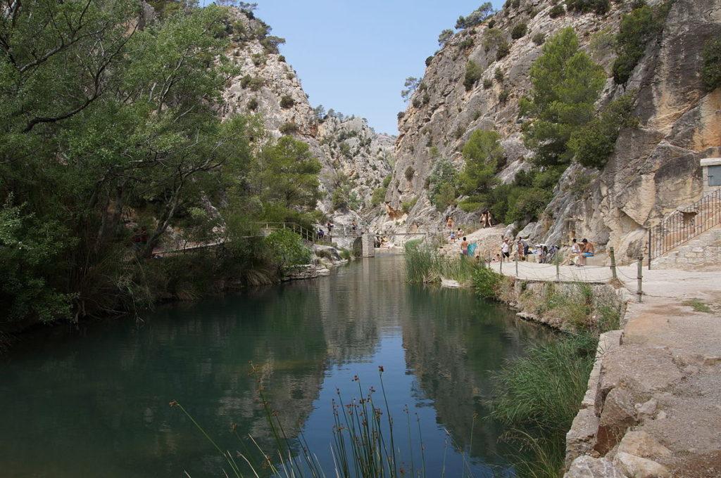 la fontcalda piscinas naturales