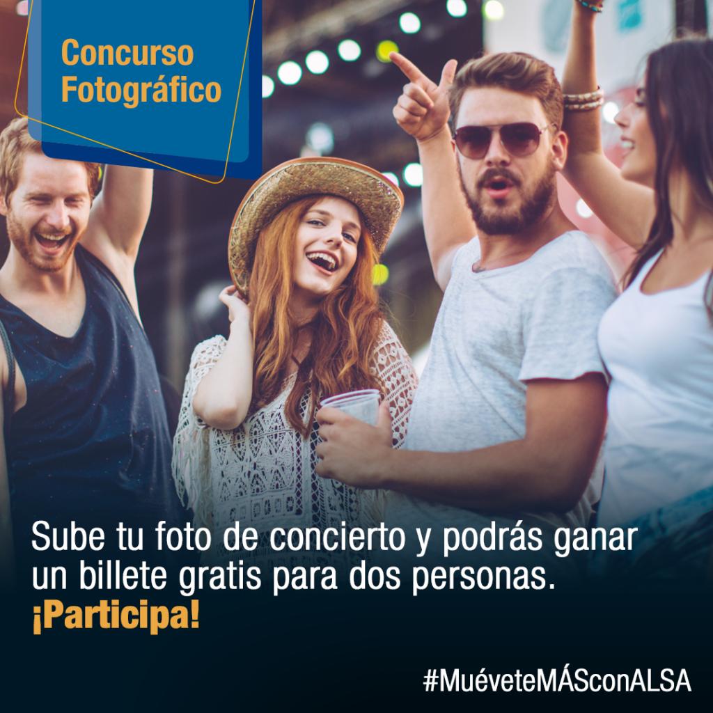 #MuéveteMÁSconALSA Conciertos