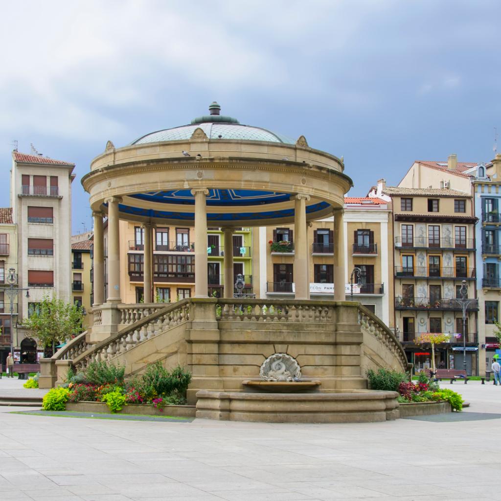 pamplona plaza del castillo