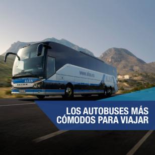 alsa autobuses más cómodos