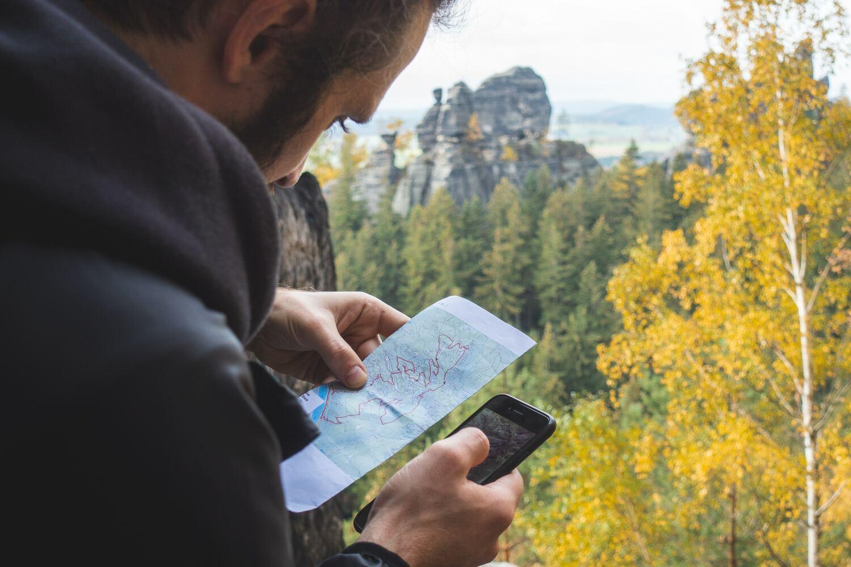 mapas offline montaña