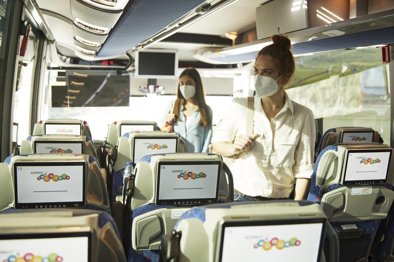 viaja seguro y tranquilo protegido Alsa aire interior renovación 3 minutos