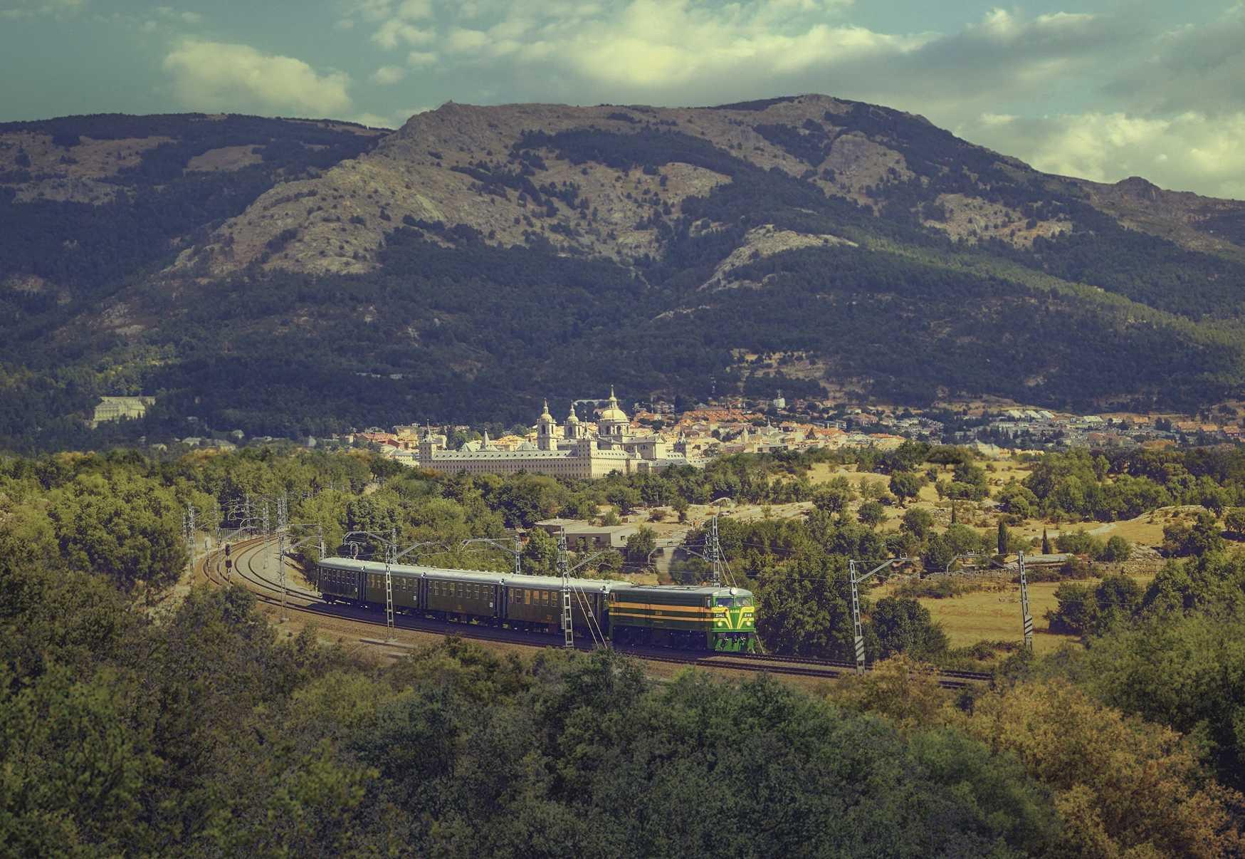 El Escorial Alsa Tren de Felipe II