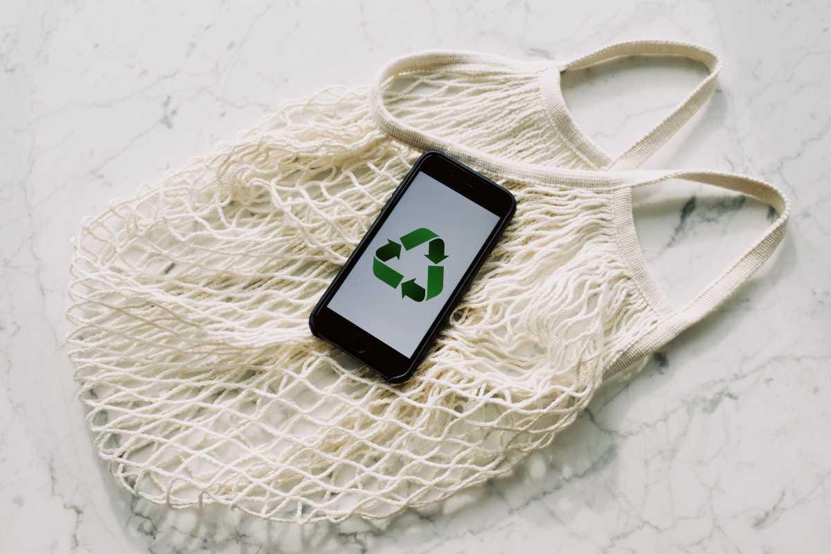 bolsa tela reciclar reciclaje reutilizar compra alsa