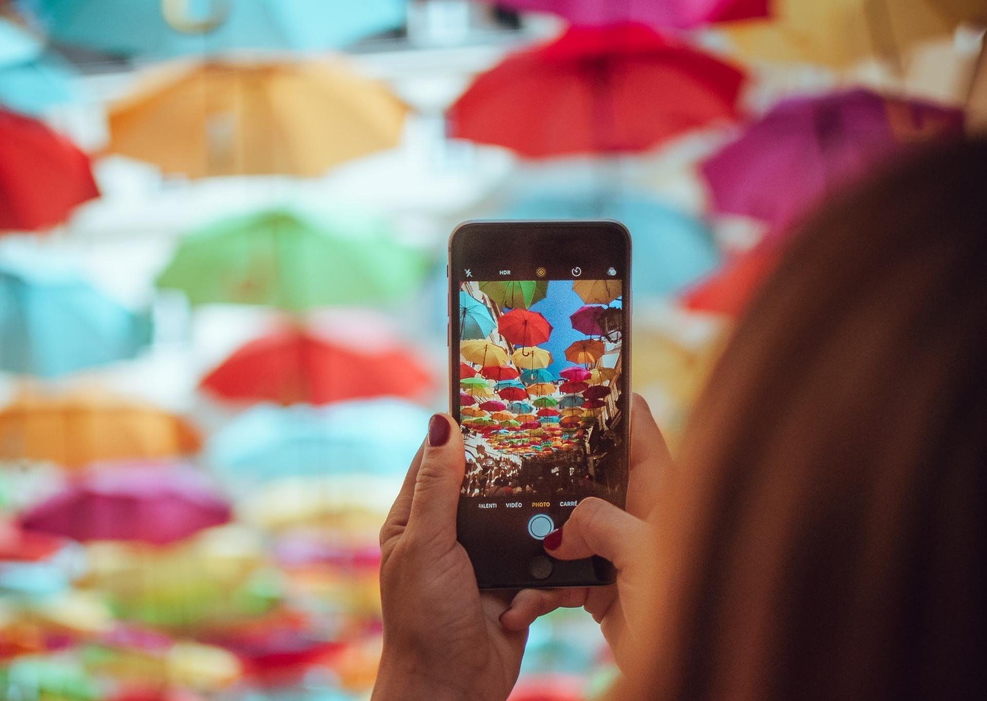 foto paraguas truco enfoque fotografía alsa viajes