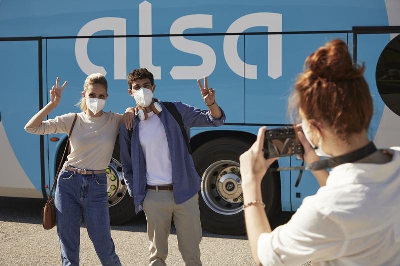 foto trucos fotografía alsa viajar amigos bus